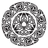 Diseño céltico redondo libre illustration