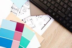 Diseño casero - adornamiento interior Fotos de archivo libres de regalías