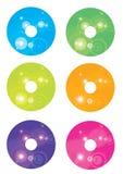 Diseño Cd Imagen de archivo libre de regalías