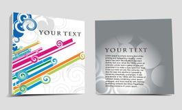 Diseño CD de la cubierta Fotos de archivo libres de regalías
