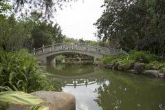 Diseño chino del jardín foto de archivo libre de regalías