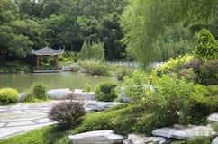 Diseño chino del jardín imágenes de archivo libres de regalías