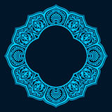 Diseño circular abstracto del marco Fotos de archivo
