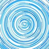Diseño circular abstracto hipnótico del fondo del modelo de la raya Libre Illustration