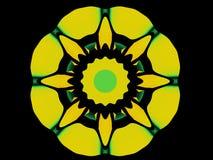 Diseño circular del estilo de Decco del arte Imágenes de archivo libres de regalías