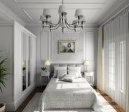 Diseño clásico de interior Fotos de archivo