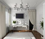 Diseño clásico de interior Fotografía de archivo