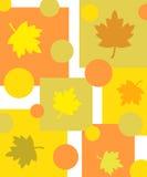 Diseño cobarde de las hojas stock de ilustración