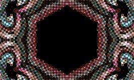 Diseño coloreado joya abstracta Ilustración del Vector