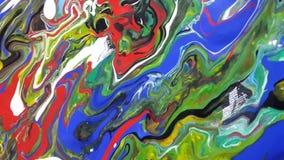 Diseño colorido abstracto de acrílico foto de archivo libre de regalías