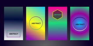 Diseño colorido abstracto del folleto del negocio 2019 coloridos - vector