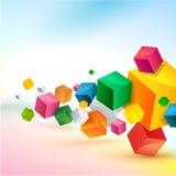 Diseño colorido abstracto del fondo Imágenes de archivo libres de regalías