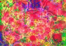 Diseño colorido abstracto del fondo del modelo Diseño y cartes cadeaux de la tarjeta de felicitación Imagenes de archivo