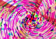Diseño colorido abstracto del fondo del modelo Diseño y cartes cadeaux de la tarjeta de felicitación Imagen de archivo libre de regalías