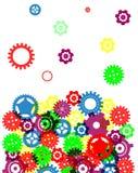 Diseño colorido abstracto industrial del fondo Fotografía de archivo libre de regalías
