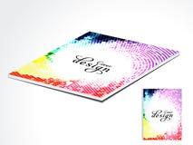 Diseño colorido de la disposición del compartimiento Imagenes de archivo
