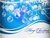 Diseño colorido de la Navidad Foto de archivo