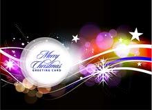 Diseño colorido de la Navidad Fotografía de archivo libre de regalías
