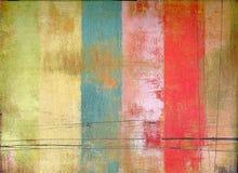 Diseño colorido de la vendimia fotos de archivo