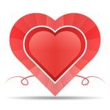 Diseño colorido del corazón ilustración del vector