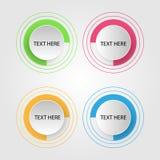 Diseño colorido del estilo del vector eps10 de Infographics del negocio libre illustration