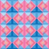 Diseño colorido del fondo de los cuadrados del extracto Libre Illustration