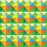 Diseño colorido del modelo de los cuadrados del extracto Ilustración del Vector