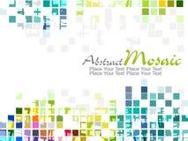Diseño colorido del modelo de mosaico del vector Imagenes de archivo