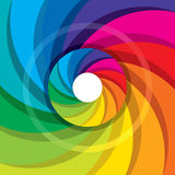 Diseño colorido del vector del obturador de cámara Fotografía de archivo libre de regalías