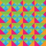 Diseño colorido inconsútil del fondo de los cuadrados Libre Illustration