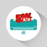 diseño comercial de las etiquetas Imagen de archivo