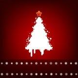 Diseño con el árbol de navidad. EPS 8 Imagen de archivo libre de regalías