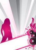 Diseño con estilo del partido Imagen de archivo libre de regalías