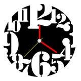 Diseño creativo de la cara de reloj Fotos de archivo libres de regalías