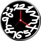 Diseño creativo de la cara de reloj Imágenes de archivo libres de regalías