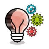 diseño creativo de las ideas Foto de archivo