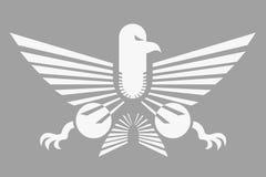 Diseño creativo del águila Fotografía de archivo libre de regalías