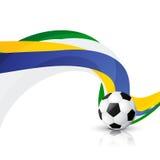 Diseño creativo del fútbol libre illustration