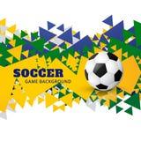Diseño creativo del fútbol americano stock de ilustración