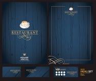 Diseño creativo del menú Diseño de la disposición, libre illustration