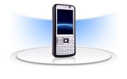 Diseño creativo del teléfono móvil stock de ilustración