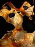 Diseño cristalizado del sulfuro imagen de archivo