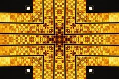 Diseño cruzado abstracto Fotografía de archivo