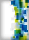 Diseño cuadrado abstracto Imágenes de archivo libres de regalías