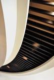 Diseño curvado del techo Fotografía de archivo