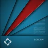 diseño 3d con las banderas del color Fotos de archivo libres de regalías