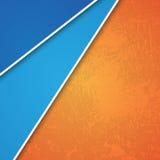 diseño 3d con las banderas/sitio web del color Ilustración del Vector