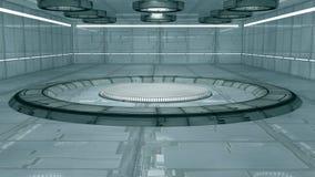 Interior del Scifi Fotografía de archivo