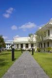 Diseño de área del jardín Imagen de archivo libre de regalías