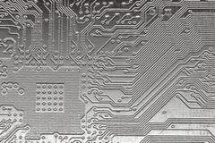 Diseño de acero del ordenador Foto de archivo